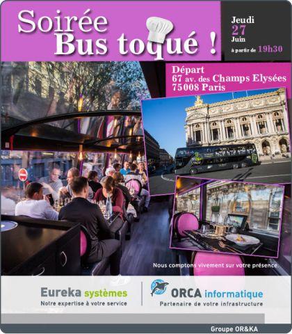 Soirée Bus toqué : jeudi 27 juin 2019 à 19h30